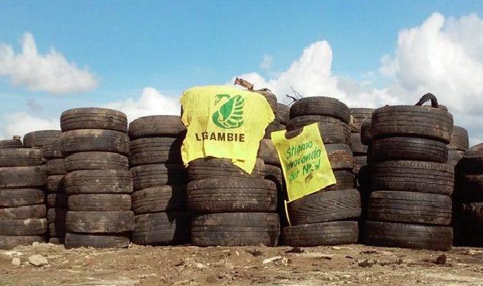 Ambiente: Legambiente rimuove 70 tonnellate di pneumatici fuori uso in Calabria