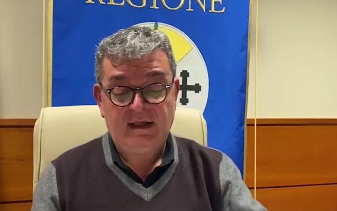 Nino Spirlì, presidente facente funzioni della Regione Calabria