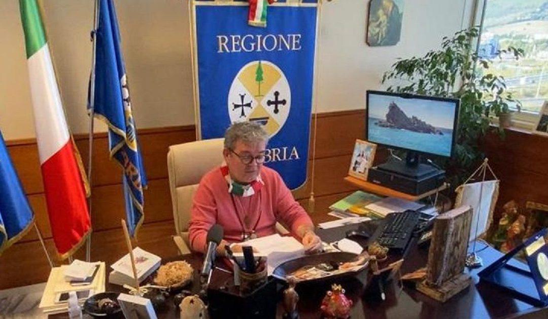 Il presidente f.f. Nino Spirlì