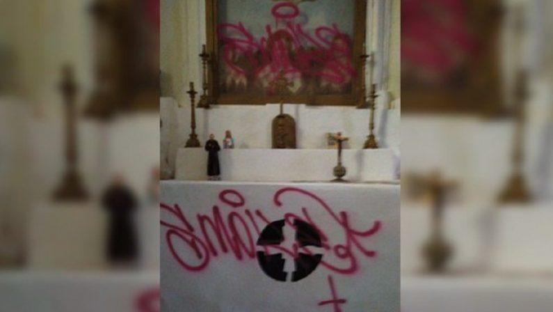 Castrovillari, ignoti imbrattano e mettono a soqquadro la chiesa della Madonna dell'Idria