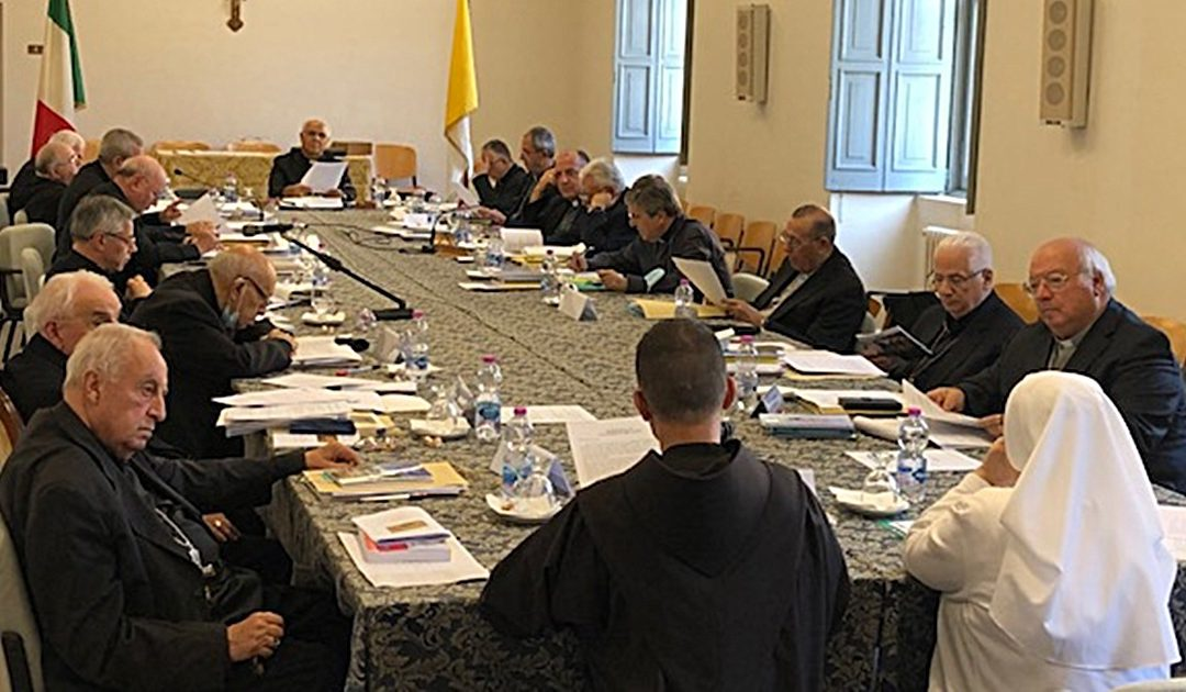 Una riunione della Conferenza Episcopale Calabra