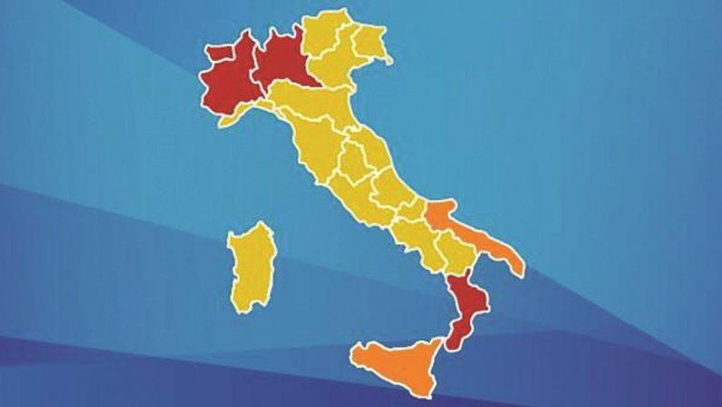 Sospetti e polemiche sull'Italia a colori. Regioni in rivolta, Calabria in testa