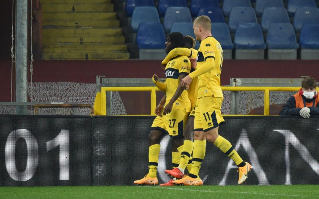 Doppietta di Gervinho, Parma corsaro 2-1 sul campo del Genoa