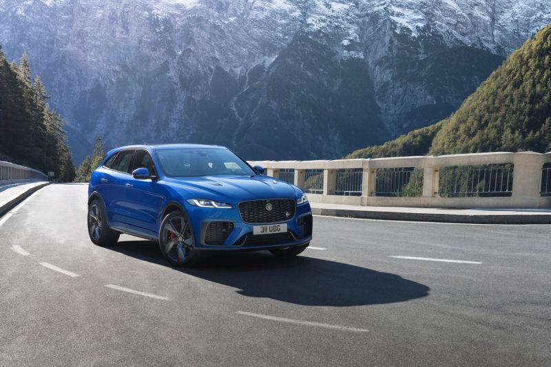 Nuova Jaguar F-Pace Svr ora più veloce, dinamica e raffinata