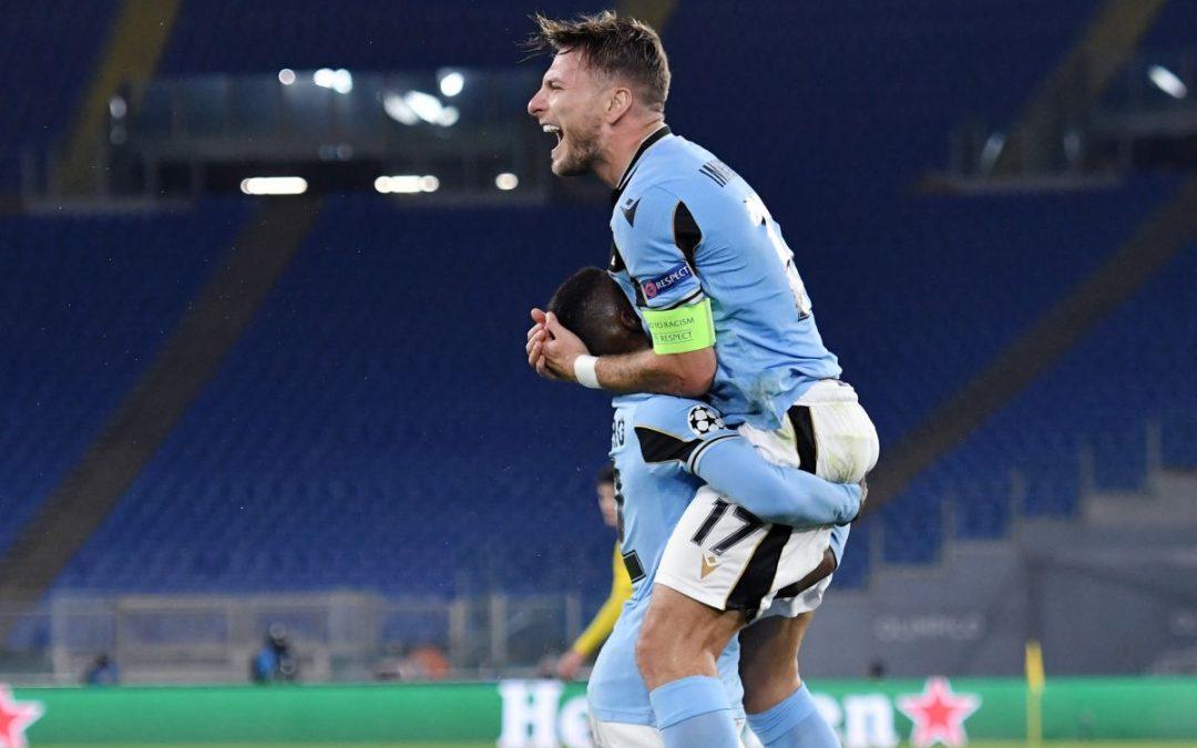 Immobile risponde a Guerrero, Borussia Dortmund-Lazio 1-1