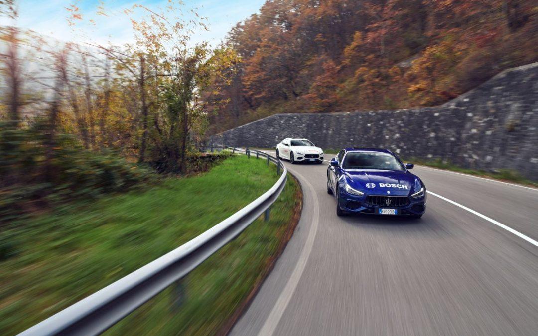 Bosch protagonista della nuova Maserati Ghibli Hybrid