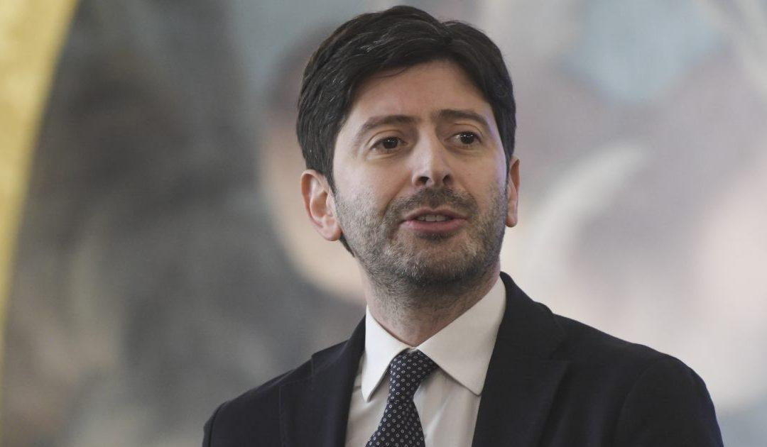 Il ministro per la Salute Roberto Speranza