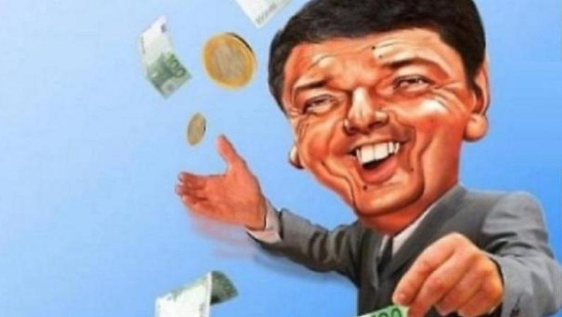Renzi, il micron che vuole diventare Macron per condizionare tutte le partite