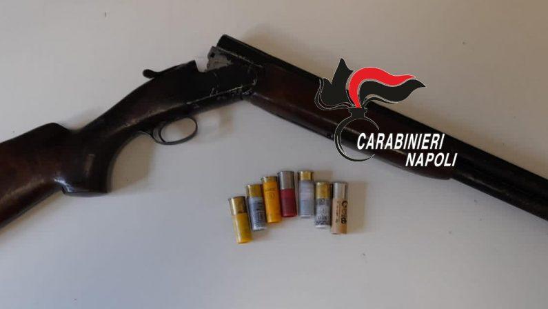 Casamicciola Terme: Lotta al bracconaggio, arrestati 3 ragazzi che andavano a caccia con fucile con matricola abrasa