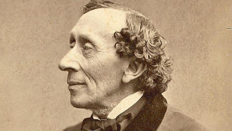 """Hans Christian Andersen, """"Un'intera storia sulla punta di un ago da rammendo"""""""