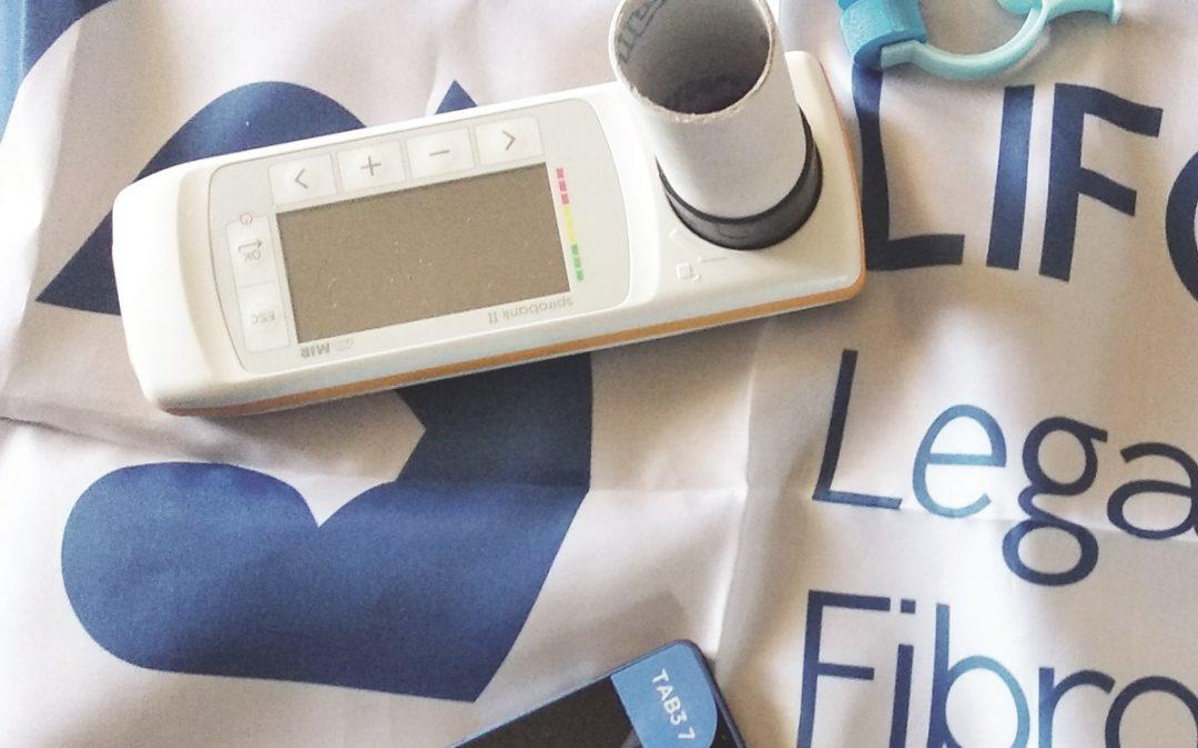 Parte dei kit per gli ammalati di fibrosi cistica