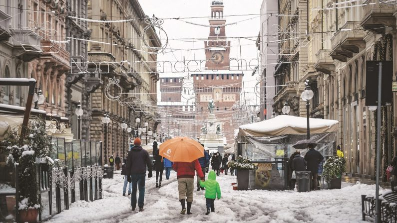 Vaccini, la figuraccia del Nord spiazzato da una banale nevicata