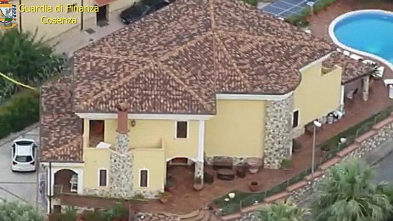 Paola, maxi sequestro a commerciante di preziosi: una villa con piscina da milioni