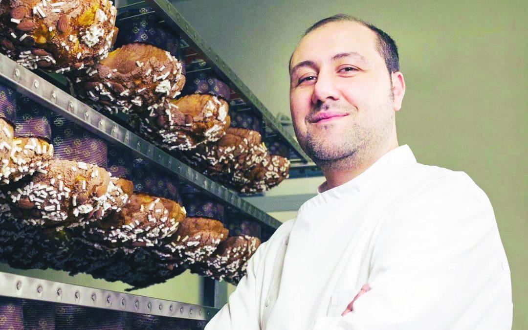 Vincenzo Tiri tiene alto il nome della pasticceria di famiglia nata nel 1957