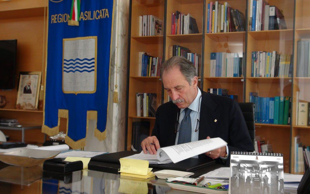 Vito Bardi, presidente della giunta regionale lucana