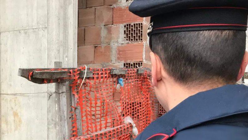 Controlli dei carabinieri sui luoghi di lavoro, denunciato imprenditore edile per lavoro nero