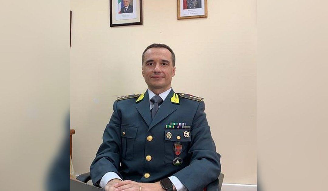 Il Tenente Colonnello Luca Pirrera