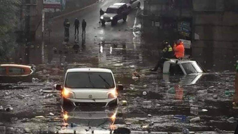 Maltempo, Reggio Calabria si sveglia dopo il temporale. Falcomatà: «Chiedo scusa ai cittadini» - FOTO