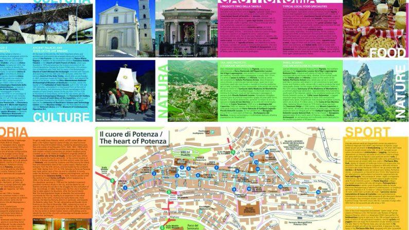 Potenza, la mappa bugiarda che inganna i turisti