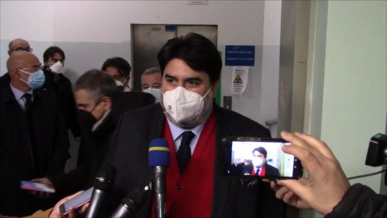 Cagliari, apre Covid hospital all'ospedale Binaghi