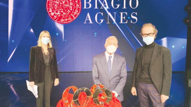 Su Rai Uno la consegna del premio Biagio Agnes