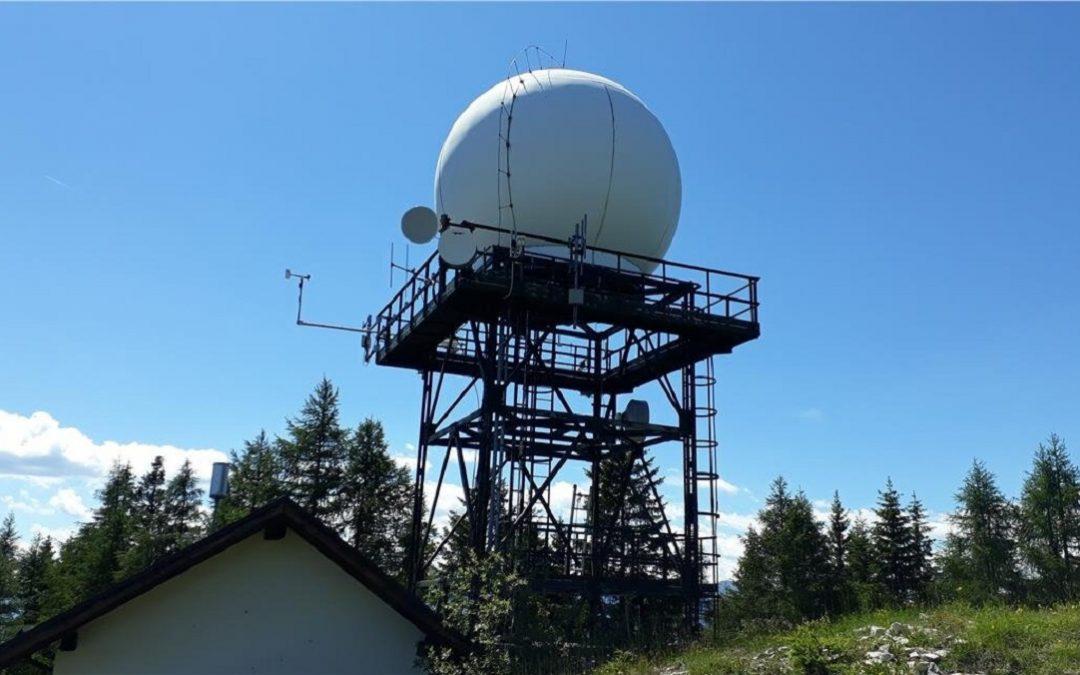 Un radar meteo
