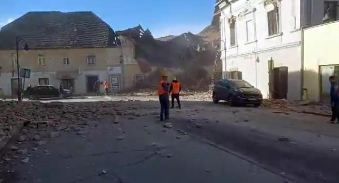 Forte terremoto in Croazia, crollato un ospedale e un asilo. Ci sono morti