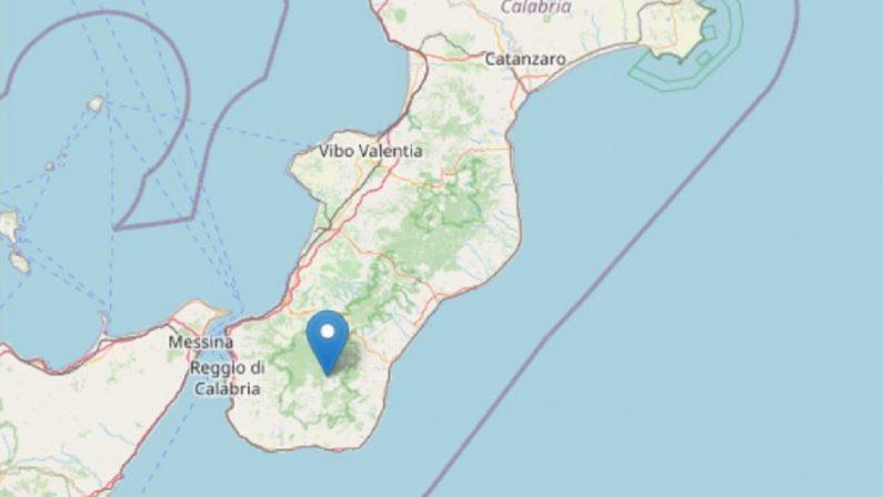 Terremoto di magnitudo 3.9 nel Reggino, paura e gente in strada