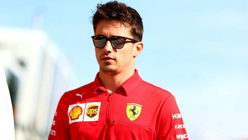 Formula 1, Charles Leclerc positivo al coronavirus