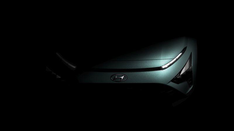 Hyundai anticipa il design del suv compatto Bayon