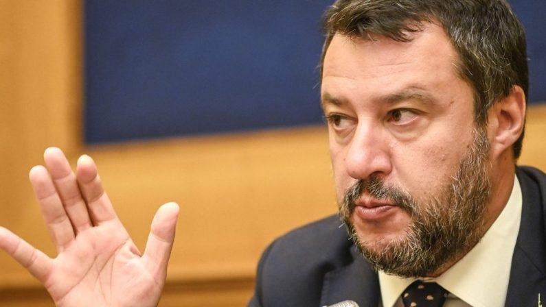 Salvini e le elezioni: «In Calabria l'11 aprile ma no a elettori-cavie»