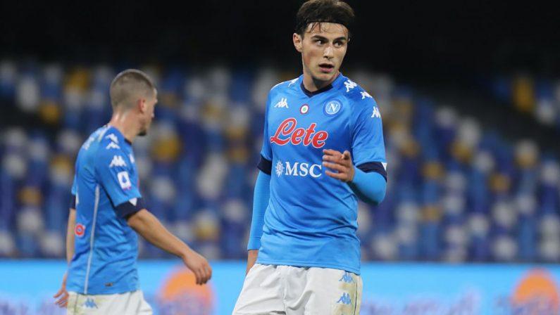 Il Napoli piega il Parma 2-0, in gol Elmas e Politano