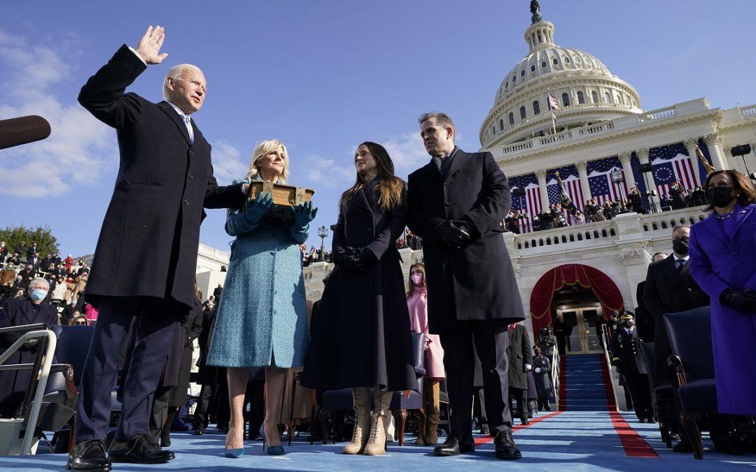 Il giuramento di Joe Biden