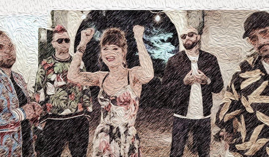 Una grafica di Boomdabash e Alessandra Amoroso in testa alla Qmusic Chart della settimana