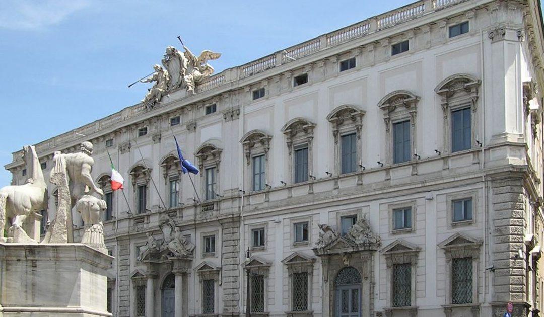Palazzo della Consulta sede del Consiglio di Stato