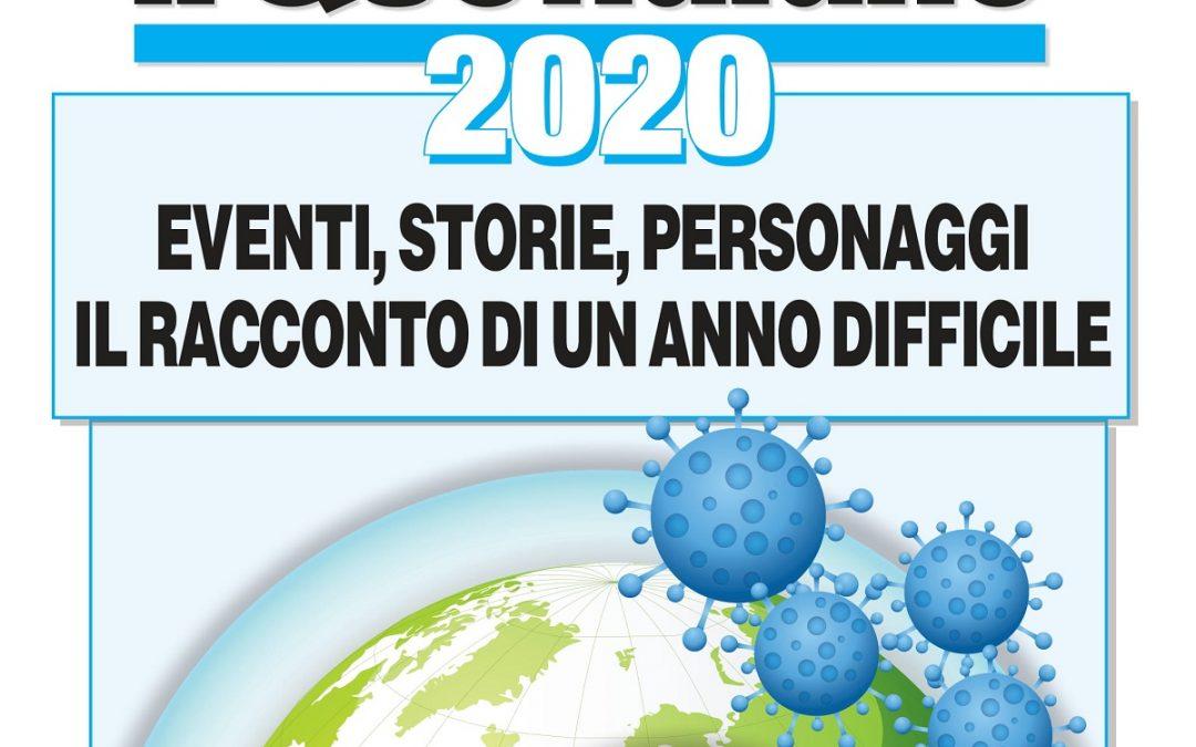 In edicola oggi gratis con il Quotidiano c'è il Diario del 2020: eventi, storie e personaggi di un anno difficile