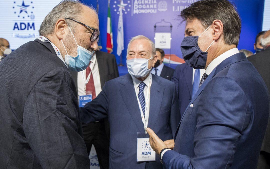 Goffredo Bettini, Gianni Letta e Giuseppe Conte