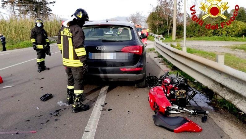 Tragedia nel Lametino, centauro 41enne perde la vita in un incidente stradale