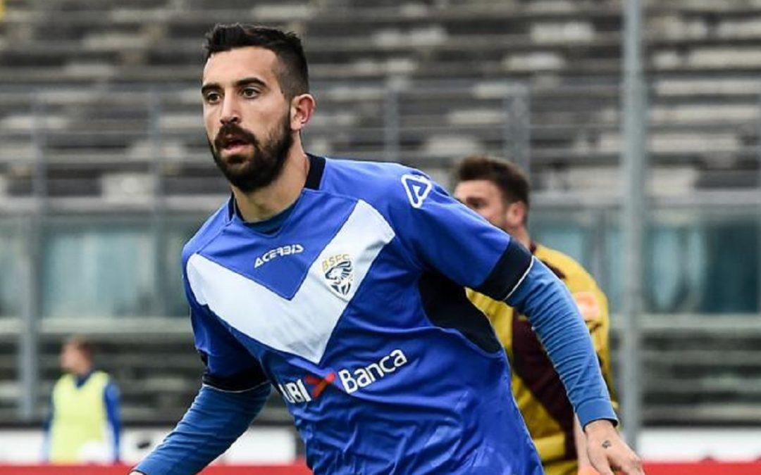 Luca Tremolada con la maglia del Brescia