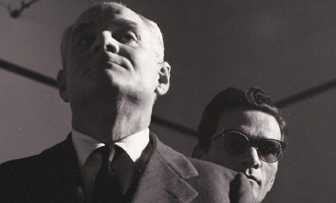 Alberto Moravia e Pier Paolo Pasolini