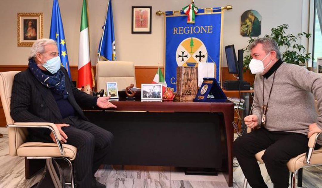 Guido Longo con Nino Spirlì