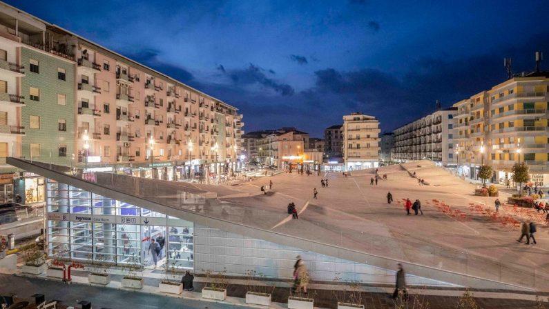 Cosenza, annuncio del sindaco Occhiuto: «Dissequestrata piazza Bilotti»