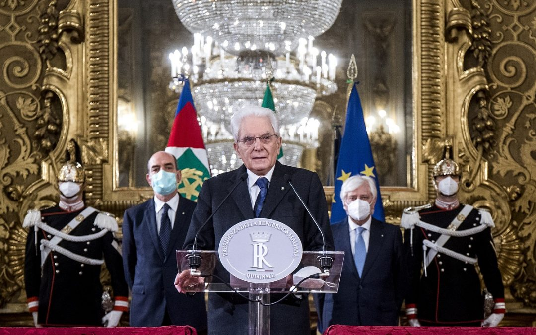 Il presidente della Repubblica annuncia il mandato esplorativo a Roberto Fico