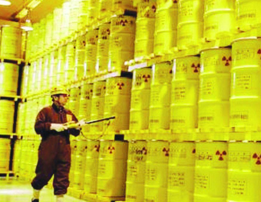 Un deposito di scorie nucleari