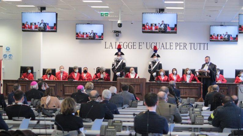 Inaugurato l'anno giudiziario a Lamezia Terme, Introcaso: «La pandemia ha inciso sui diritti fondamentali delle persone»