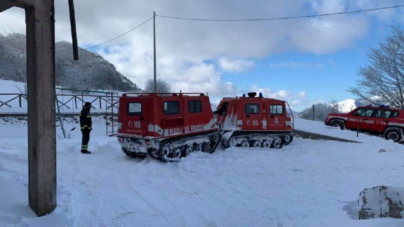 Tratti in salvo due escursionisti potentini rimasti bloccati sul Monte Alpi