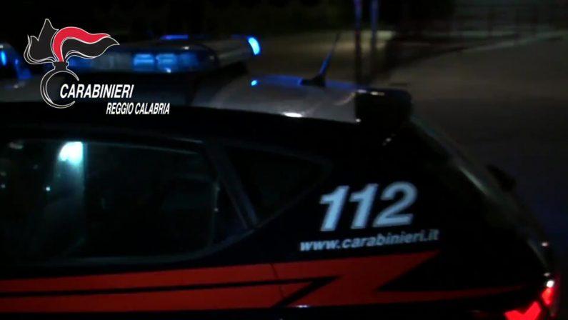 Due arresti e due denunce dei carabinieri in provincia di Reggio Calabria