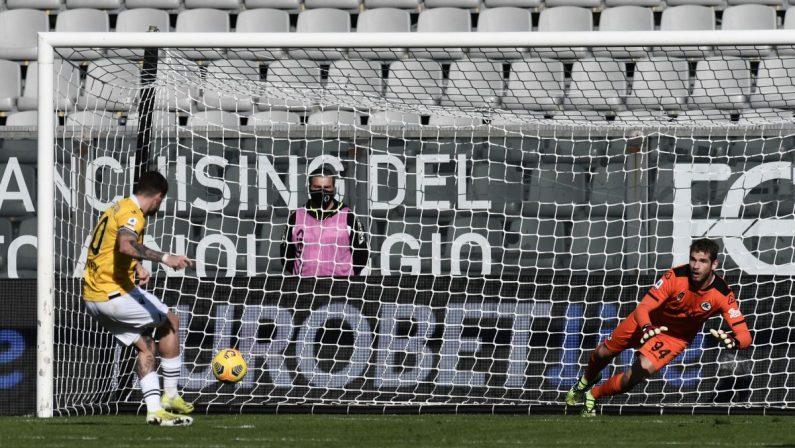 L'Udinese si aggiudica la sfida salvezza con lo Spezia