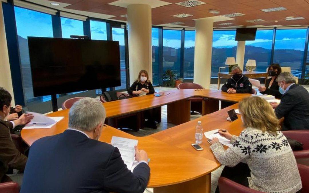 Una riunione della giunta regionale