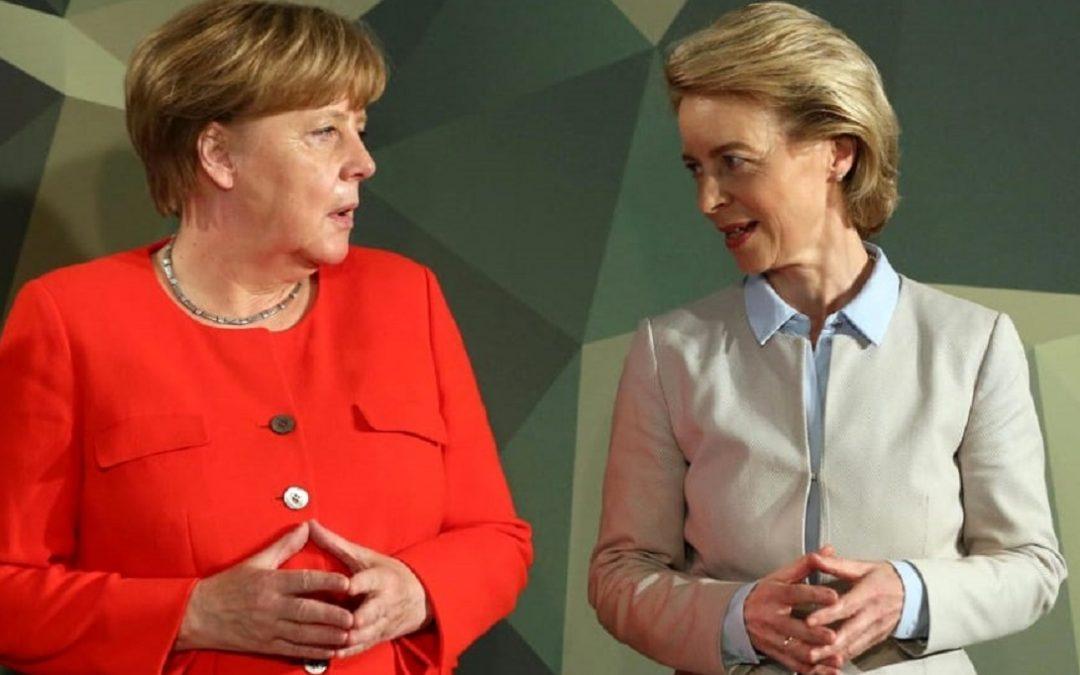 Angela Merkel e Ursula von der Leyen